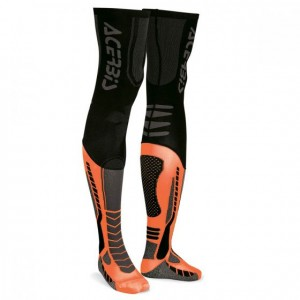 X-LEG PRO SOCKS - BLACK/ORANGE