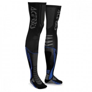 X-LEG PRO SOCKS - BLACK/BLUE