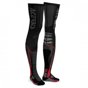 X-LEG PRO SOCKS - BLACK/RED