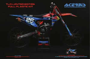 PLASTIK FULL KITS KTM SX/SXF 16-18 - BLUE-ORANGE