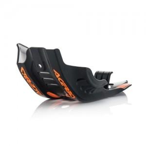 SKID PLATE KTM SXF 450 16/18 + HUSQVARNA FC450 16/18 + FE 450-501 17/19 – BLACK