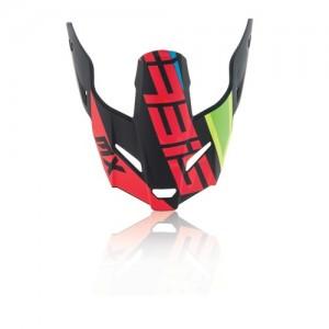 Visor Profile 3,0 - BLACK/RED