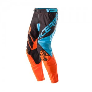 MX X-GEAR PANTS - BLUE/ORANGE