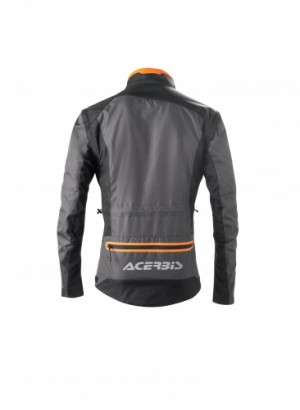 ENDURO ONE JACKET - BLACK/FLO ORANGE