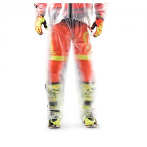 TRASPARENT RAIN PANTS 3.0 - CLEAR