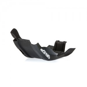SKID PLATE KTM EXC 250-300 17/19 + HUSQVARNA TE 250-300 17/19 – BLACK