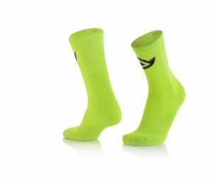 SOCKS COTTON - FLO YELLOW