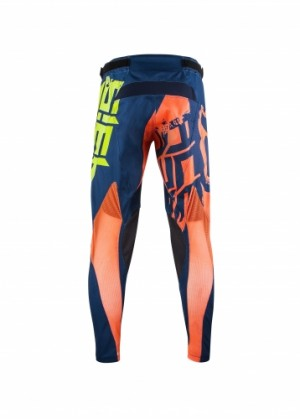 MX AIRBORNE PANTS - YELLOW/BLUE