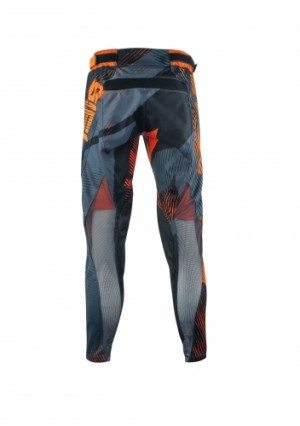 MUDCORE MX PANTS - ORANGE/BLACK