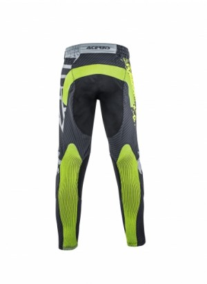 MX CARBON-FLEX PANTS - BLACK/YELLOW