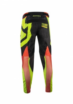 MX HELLRIDE PANTS - BLACK/YELLOW