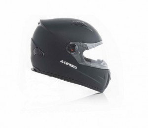 HELMET FULL FACE FS-807 - BLACK