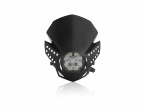 HEADLIGHT LED FULMINE - BLACK