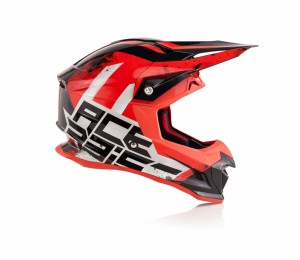 HELMETS PROFILE 4 - WHITE/RED