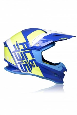 PROFILE 4.0 HELMET - BLUE/YELLOW