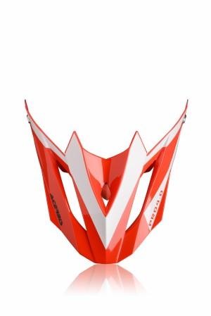 VISOR PROFILE 4.0 - RED/WHITE