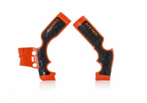 X-GRIP Frameprotector KTM SX 65 2014-2018 - ORANGE