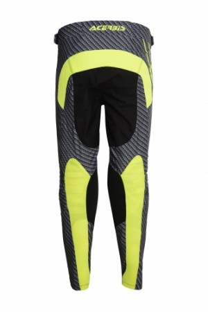MX CARBON-TITAN FLEX PANTS - GREY/FLO YELLOW