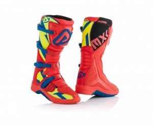 BOOTS X-TEAM - RED/FLO YELLOW