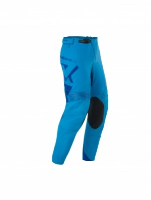 MX THUNDER PANTS - BLUE/FLO ORANGE