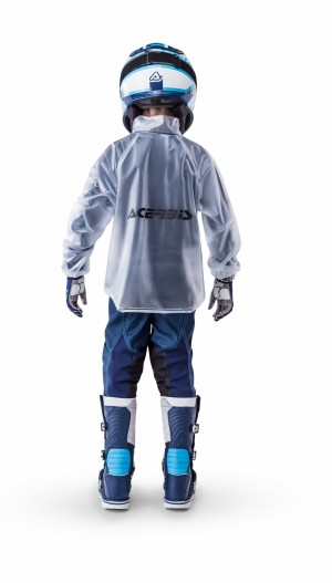 TRASPARENT RAIN JACKET 3.0 - KID - CLEAR