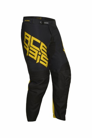 MX CASPIAN SPECIAL PANTS - BLACK/YELLOW