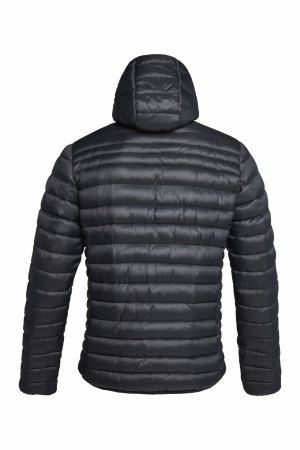 HILL 035 JACKET MAN - BLACK/YELLOW