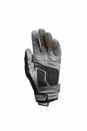 GLOVES X-WP HOMOLEGATED : WATERPROOF - BLACK/GREY