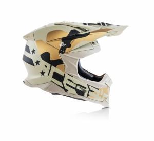 X-RACER VRT HELMET FIBREGLASS - CAMO