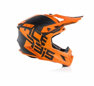 X-PRO VTR HELMET FIBREGLASS - ORANGE
