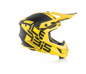 X-PRO VTR HELMET FIBREGLASS - BLACK/YELLOW