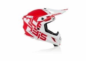 X-PRO VTR HELMET - RED/WHITE