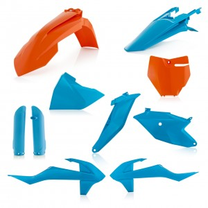 FULL KIT PLASTIC KTM 85 18/19 - ORANGE/BLUE