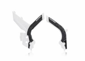 FRAME PROTECTOR X-GRIP  KTM SX-SXF 2019 - WHITE/BLACK