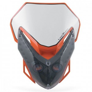 LED VISION HEADLIGHT - ORANGE