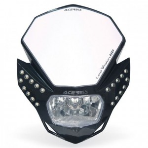 LED VISION HP HEADLIGHT - BLACK