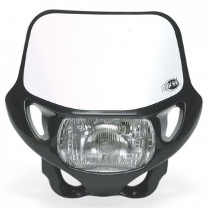 DHH CERTIFIED HEADLIGHT - BLACK