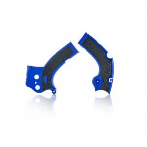 FRAME GUARDS YZF 450 16-17 + YZF 250 17-18 - BLUE