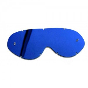 LENS P.CARB MIRROR - PLATINUM - BLUE/BLUE