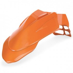SUPERMOTARD FRONT FENDER - ORANGE