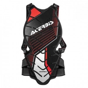 COMFORT BACK PROTECTOR 2.0 - BLACK/RED