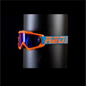 RED tear off goggles HURRICANE 115 - ORANGE