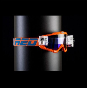 RED roll off goggles HURRICANE 115 - ORANGE