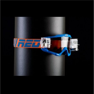 RED roll off goggles HURRICANE 115 - BLUE
