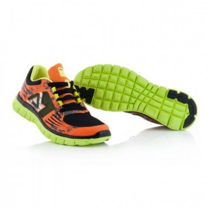 CORPORATE RUNNING SHOES - FLO ORANGE/BLACK