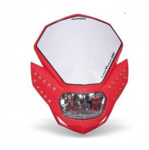 LED VISION HP HEADLIGHT - RED