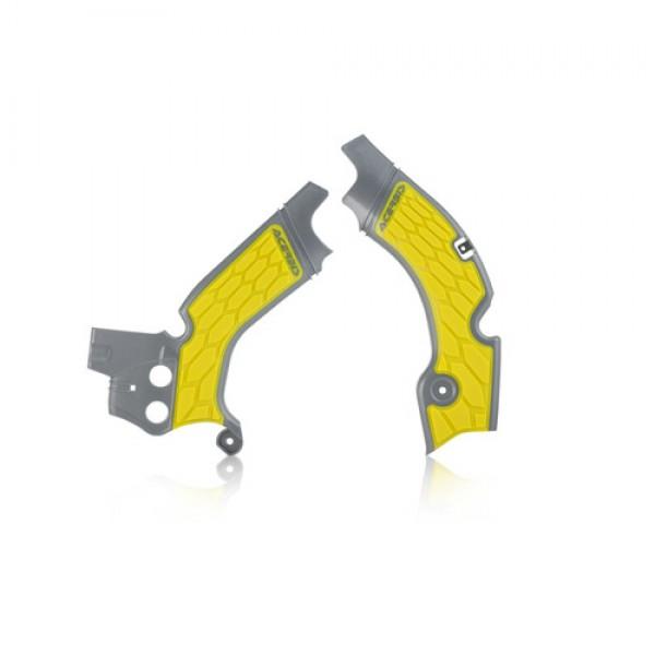 X Grip Frameprotector Rmz 250 2015 2018 Grey Yellow