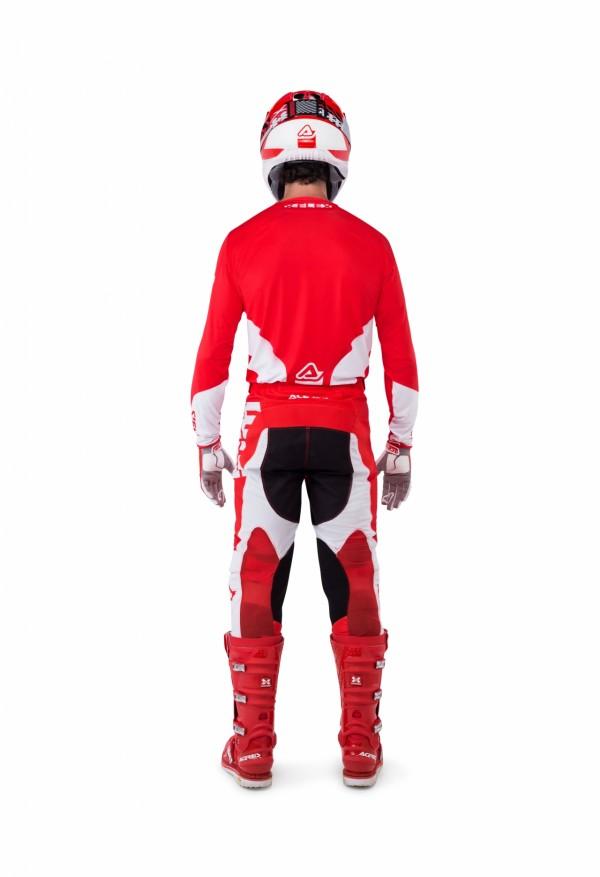 Mx X Flex Vega Pants Orange Black Mx Pants Mx Acerbis